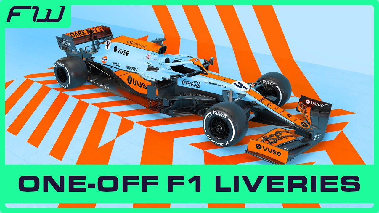 Download 9 Times F1 Teams Used One-Off Liveries