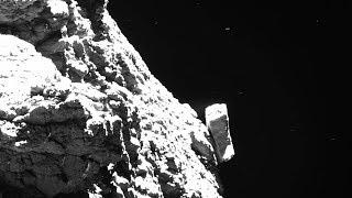 Rosetta's final images of Comet 67P/Churyumov-Gerasimenko