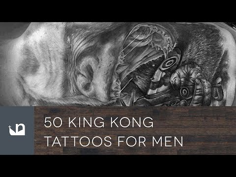 50 King Kong Tattoos For Men