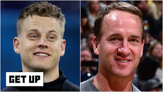 Joe Burrow seeking advice from Peyton Manning shows that he's special - Dan Orlovsky | Get Up
