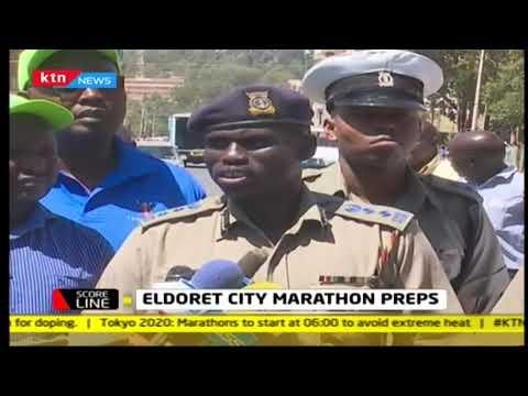 SCORELINE: Security at Eldoret city marathon