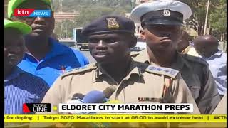 SCORELINE: Security at Eldoret city marathon