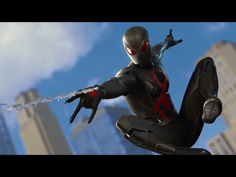 UNLOCKING BLACK CAT SECRET DARK SUIT!! |  Spider-Man PS4 w/Thinknoodles!