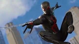 UNLOCKING BLACK CAT SECRET DARK SUIT!!    Spider-Man PS4 w/Thinknoodles!