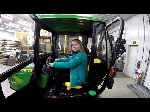 """Factory Visit to """"Original Tractor Cab"""" - Compact Tractor Cabs & Shades"""