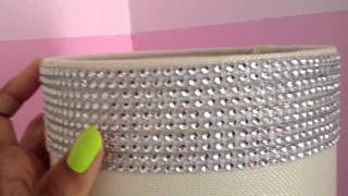 DIY~ How to Sparkle & Bling Out a Lamp Shade ~ by The Frugalnista! Thumbnail