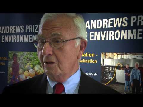 CryoDesalination -  Finalist -The St Andrews Prize for the Environment 2013