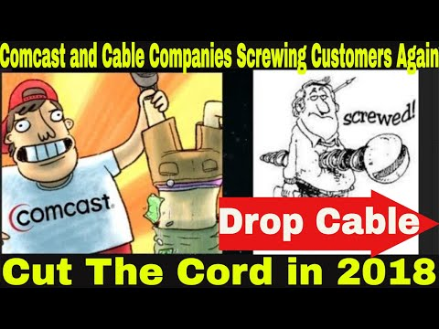 Comcast Cable attacking customers again   Cut The Cord   More Reason to join a stream service.