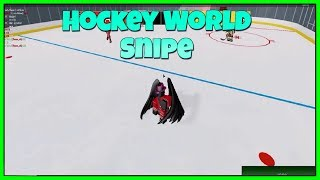 Roblox Hockey World Snipe In A Pickups Server