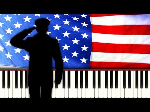 AMERICA THE BEAUTIFUL - Piano Tutorial
