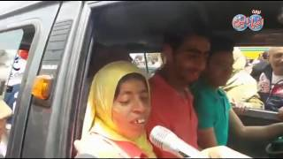 أخبار اليوم | فتاة العربة : الرئيس السيسي أوفى بوعده والعمل هدفي في الحياة