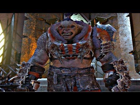 Shadow of War - High Level Online Fortress Siege & Bruz The Chopper Overlord Boss