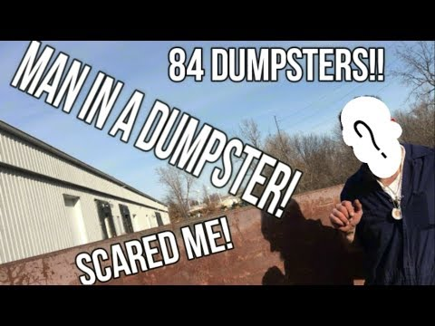 84 Dumpsters in 1 Day - Nice Metal Score, Football Helmet, Bird House and MORE!
