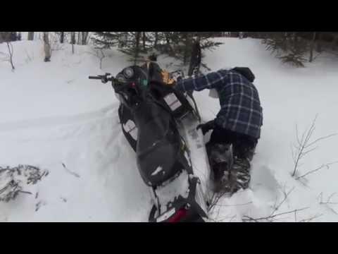 Snowmobile Fails 2014