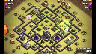 Clash of clans - after update - Lanhut Extreme - 3stars on Townhall 09