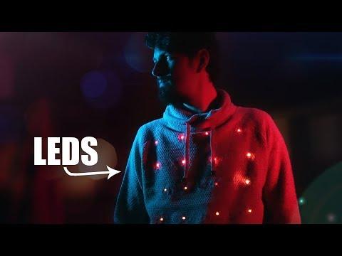 Suéter Con LEDs Hecho En Casa | Arduino Y Leds RGB