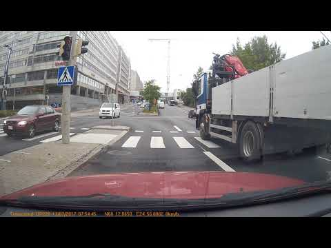 Transcend Drivepro 220 13.07.2017 Pitäjänmäki Helsinki, Finland   Original audio