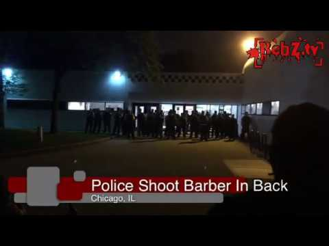 Chicago Police Shoot Local Barber - Arrest Several Protesters