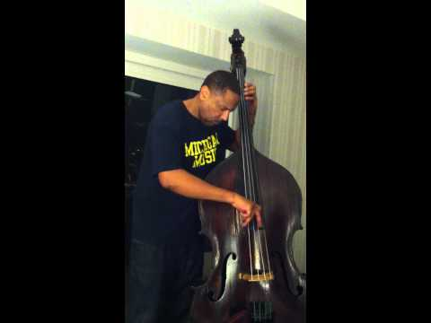 Me playing Ray Brown's bass