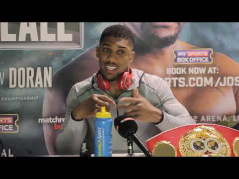 Anthony Joshua FULLPOST FIGHT press conference.