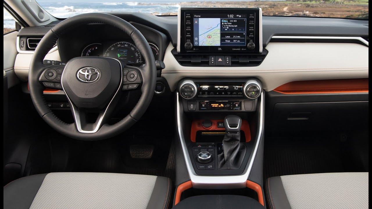 2019 Toyota Rav4 Adventure Interior Youtube