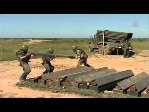 Russian BM-21 Grad Rocket System BIG COMPILATION HD
