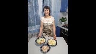 3 салата за 5 минут