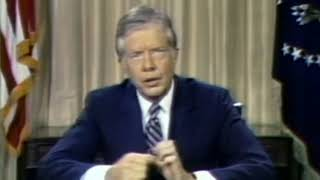 Jimmy Carter - Crisis of confidence (Minimalism doc)