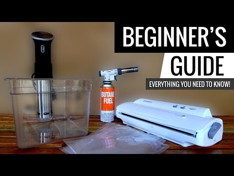 Sous Vide Beginners Guide - Everything you need to know!