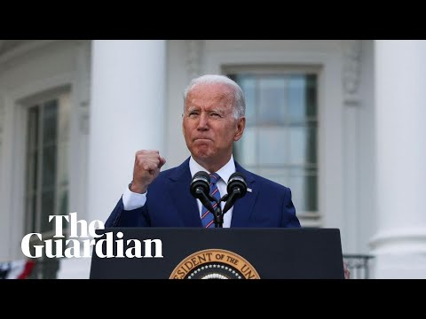 Getting vaccinated is patriotic, says Joe Biden on Fourth of July