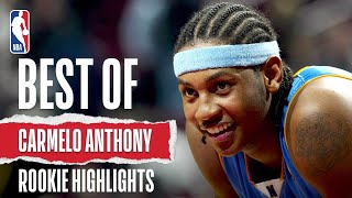 Carmelo Anthony's BEST Highlights As A Rookie