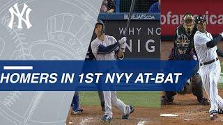 A Look at Yankees Players Who Hit First At-Bat Homers