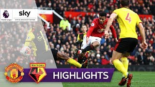 Martial einfach zauberhaft! | Manchester United - FC Watford 3:0 | Highlights - Premier League 19/20