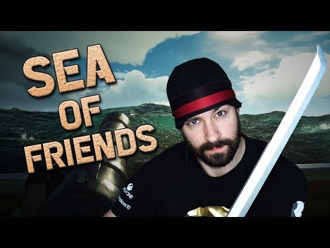 SEA OF FRIENDS: The Battle of The Raid! 1/2 (Sea of Thieves)