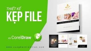 Tutorial CorelDraw: Hướng dẫn thiết kế Kẹp file với Coreldraw