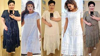 Красивые стильные летние платья красивые платья для полных женщин