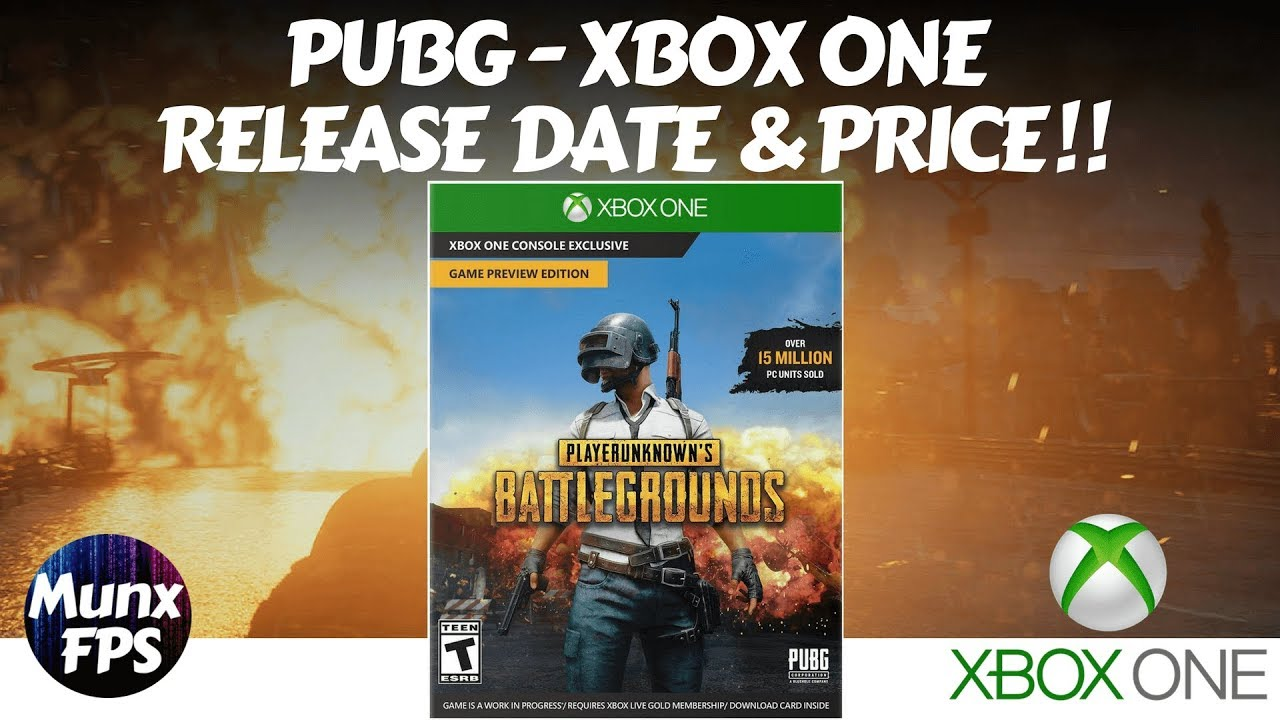 Pubg xbox one release date & pricing confirmed! | pubg.