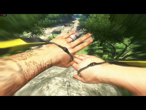 Far Cry 3 Stealth Outpost Liberation #1 NO HUD [ Expert Difficulty, 1080p60Fps ]