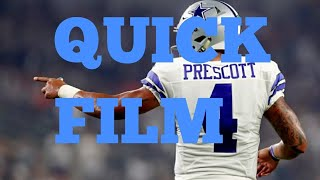 Quick Film On Dak Prescott- Gotta Set Your Feet