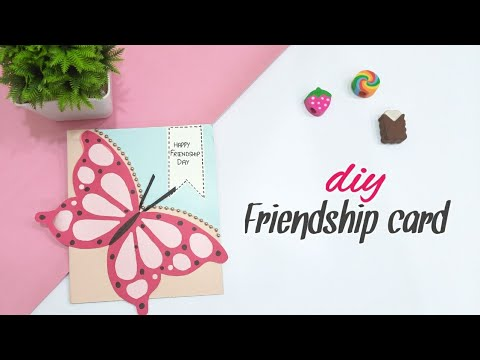 Friendship Day Card Ideas || Easy Greeting Card For Friends