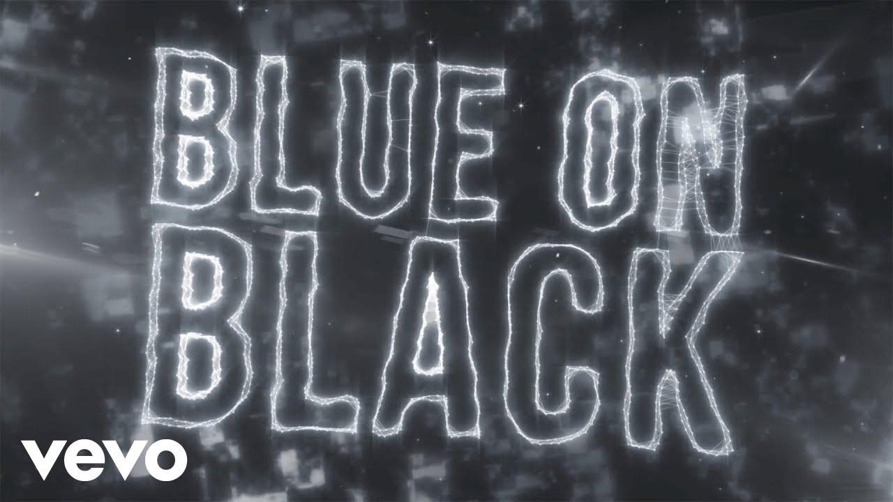 five finger death punch blue on black lyric video