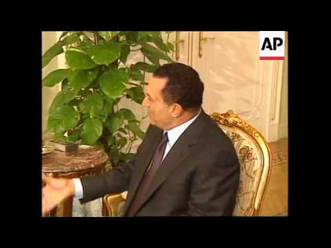 IRAQ/EGYPT: IRAQI/UN WEAPONS INSPECTIONS STANDOFF (V)