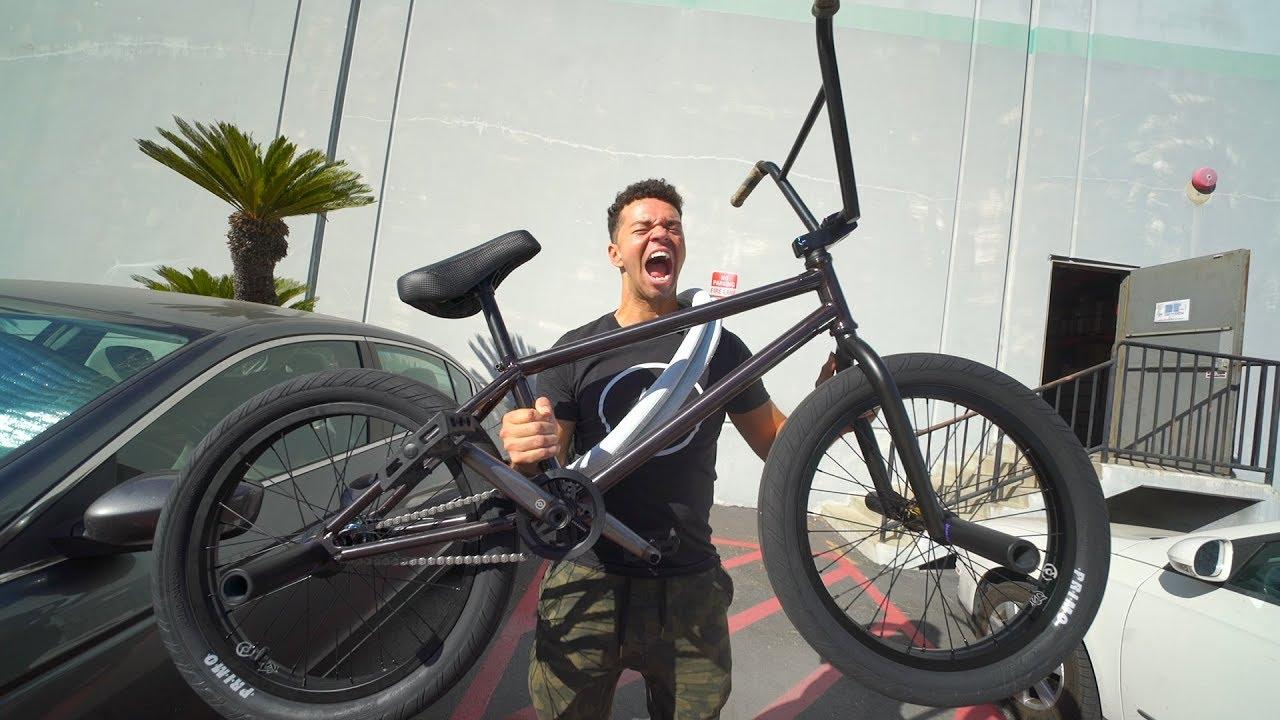 I Got A Brand New All Black Bmx Bike Youtube