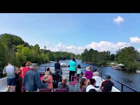 Tour of Lake Muskoka on Cruise Ship Lady Muskoka, Ontario, Canada