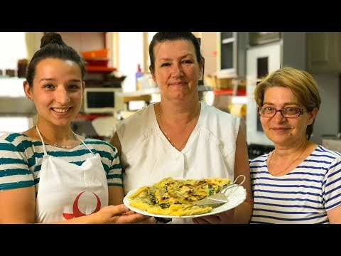 Griselda's Twice-Baked Spinach Pie, An Albanian Classic