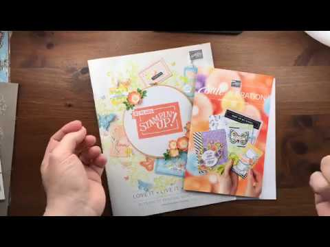 2019 Stampin' Up! Occasions Catalog & Sale-a-Bration Preoder Unboxing