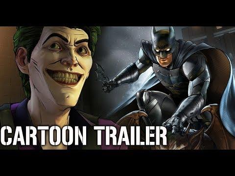 BATMAN Telltale Season 2 Episode 1 ''CARTOON'' Trailer 2017