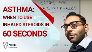 Asthma: When to use inhaled steroids in 60 seconds