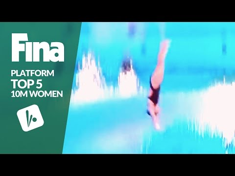 Top 5 - Women's 10m | FINA/NVC Diving World Series - Windsor 2017