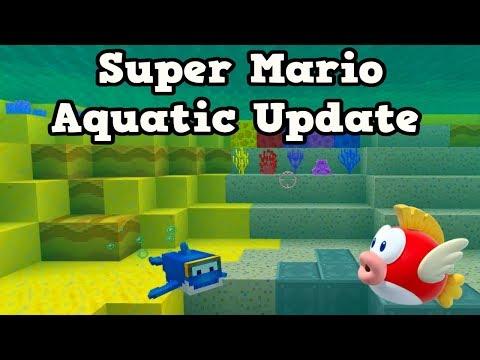 Minecraft Super Mario Meets AQUATC UPDATE